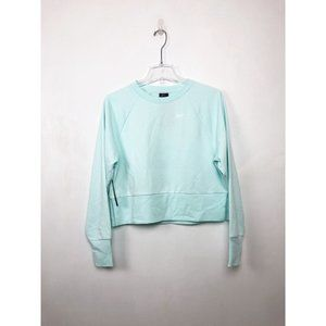 NIKE Dry Aqua Crop Cutout Training Sweatshirt XS